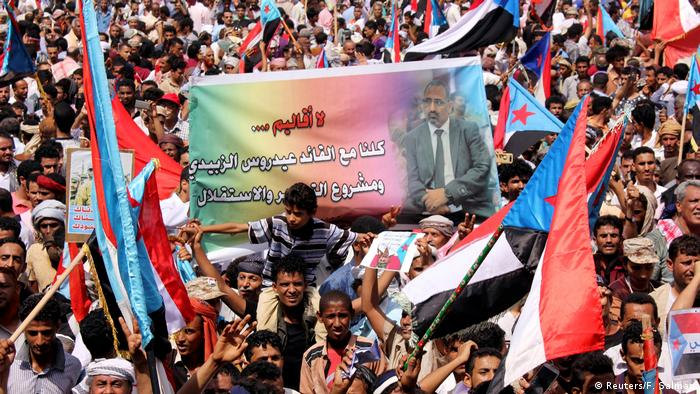 Jemen   Proteste gegen Präsident Hadi (Reuters/F. Salman)