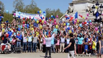 Frankreich En Marche: Rund 260.000 Mitglieder innerhalb eines Jahres ( En Marche Gironde)