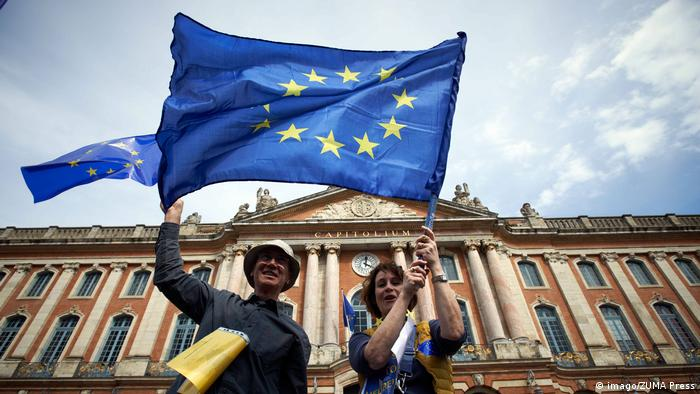 Frankreich | Pulse of Europe | Toulouse (imago/ZUMA Press)