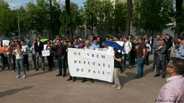 Proteste la Chișinău, 05.05.2017