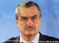 Chefe da diplomacia tcheca, Karel Schwarzenberg