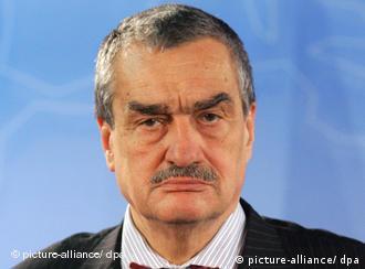 Karel Schwarzenberg, ministro checo de Relaciones Exteriores.