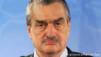 Czech Foreign Minister Karel Schwarzenberg