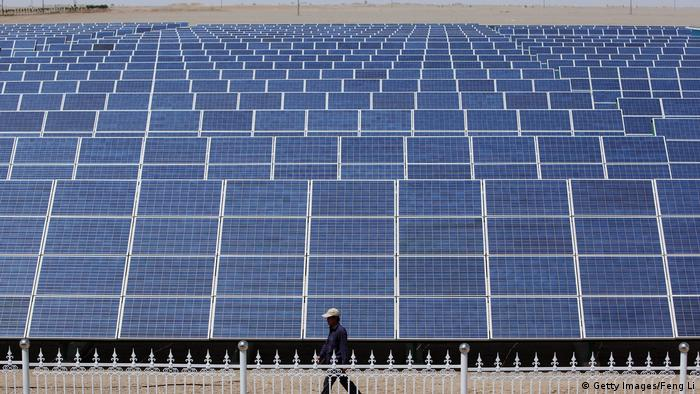 China   Photovoltaik in China (Getty Images/Feng Li)