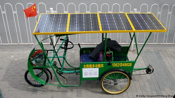 China   Photovoltaik in China (Getty Images/AFP/Wang Zhao)