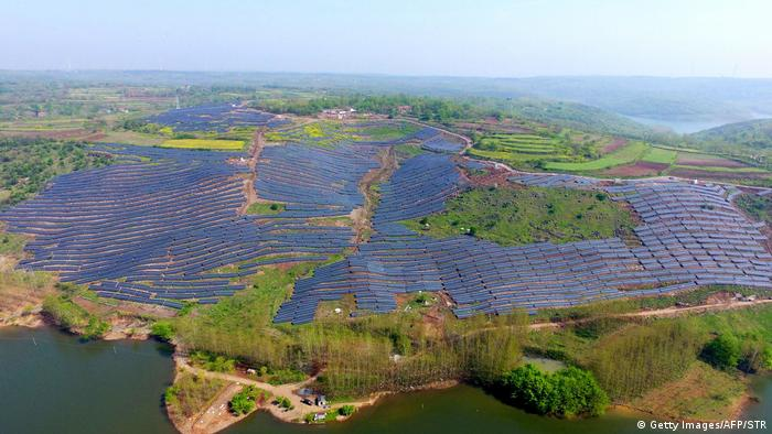 China   Photovoltaik in China (Getty Images/AFP/STR)