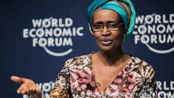 Südafrika | World Economic Forum on Africa 2017 | Winnie Byanyima (World Economic Forum/J. Polacsek)