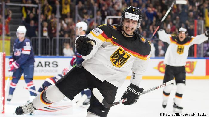 Köln Eishockey WM 2017 USA Deutschland (Picture-Alliance/dpa/M. Becker)