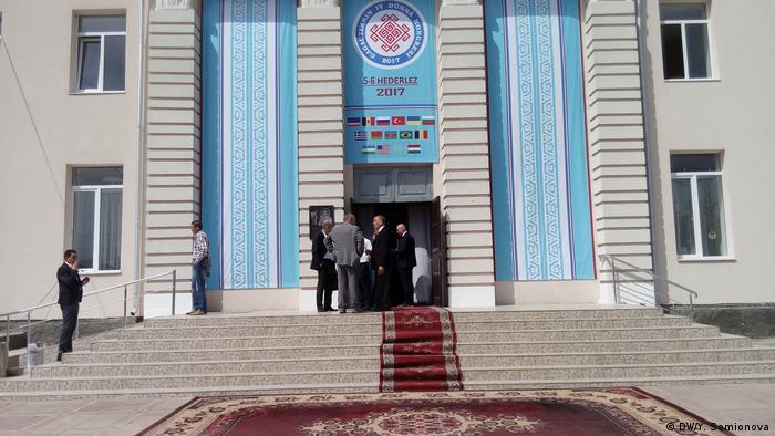 Дворец культуры в Комрате, где проходит конгресс гагаузов