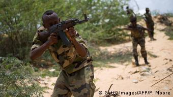 Somalien Armee