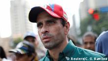 Venezuela Oppositionsführer Henrique Capriles