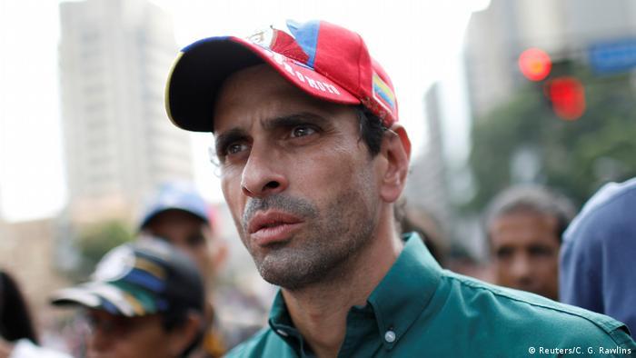 Venezuela Oppositionsführer Henrique Capriles (Reuters/C. G. Rawlins)