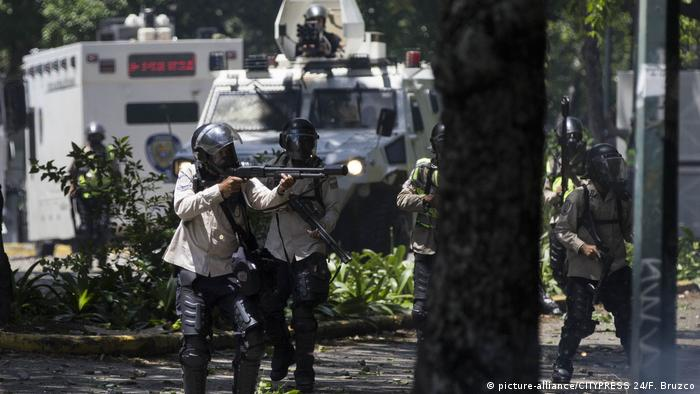 Unruhen in Venezuela