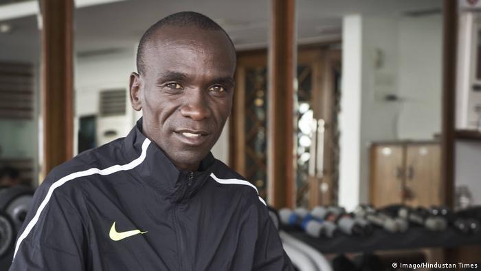 Eliud Kipchoge kenianischer Marathonläufer