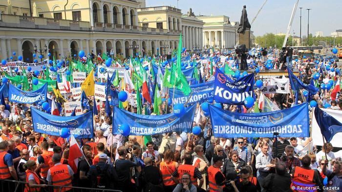 Marsch für die Freiheit″ in Polen | Aktuell Europa | DW | 06.05.2017
