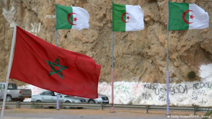 Grenzgebiet Marokko - Algerien in Saidia (Getty Images/AFP/F. Senna)