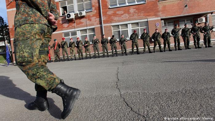 Balkan - Konflikt zwischen Kosovo und Serbien - Bundeswehreinsatz (picture alliance/dpa/V. Xhemaj)