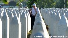 Balkan - Konflikt zwischen Kosovo und Serbien - Gedenkfriedhof