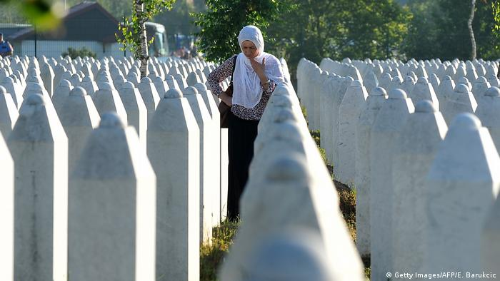 Balkan - Konflikt zwischen Kosovo und Serbien - Gedenkfriedhof (Getty Images/AFP/E. Barukcic)