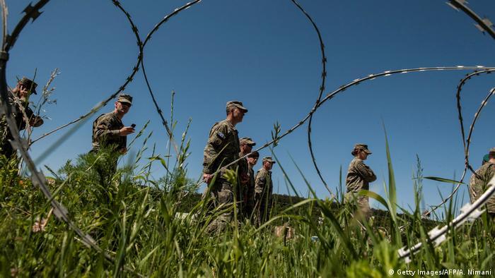 Balkan - Konflikt zwischen Kosovo und Serbien - KSF