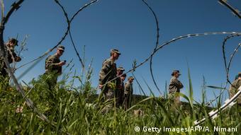 Στρατιώτες της ΚFOR στο Κοσσυφοπέδιο