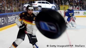 Игра команды Германии против команды Швеции на ЧМ-2017 по хоккею