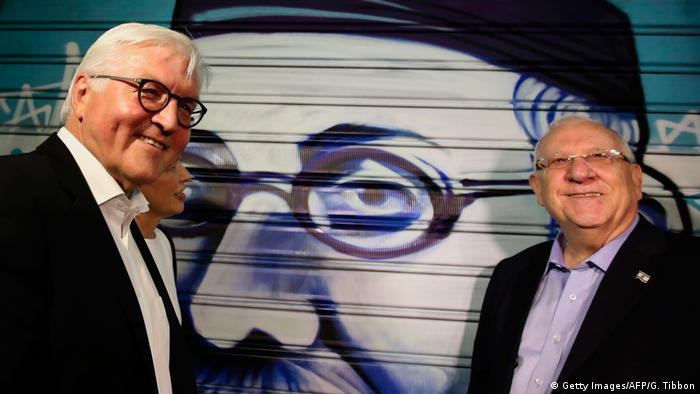 Israel Bundespräsident Frank-Walter Steinmeier in Jerusalem (Getty Images/AFP/G. Tibbon)