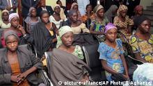 Nigeria Chibok-Mädchen in Abuja