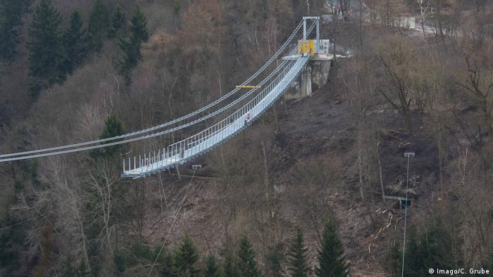Harz pedestrian suspension bridge