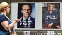Japan französische Präsidentschaftswahl in Tokio