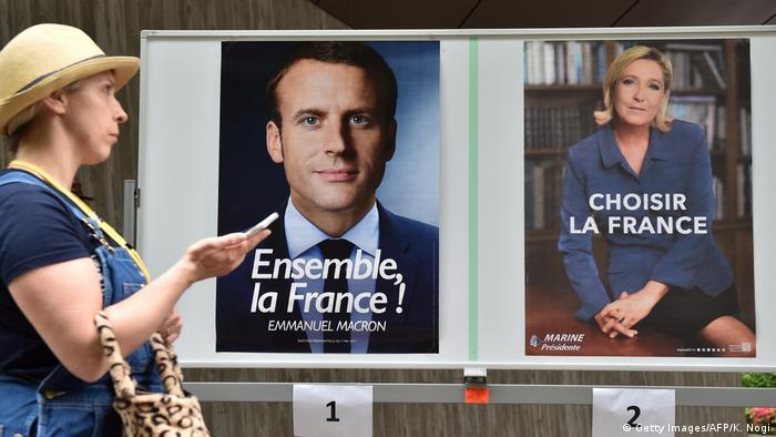 Japan französische Präsidentschaftswahl in Tokio (Getty Images/AFP/K. Nogi)