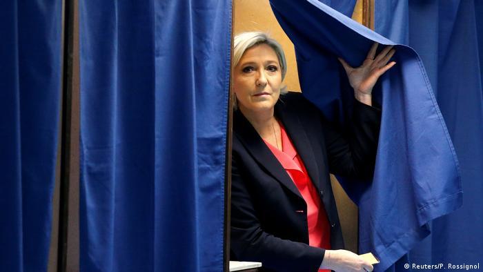 Frankreich Präsidentschaftswahl Marine Le Pen