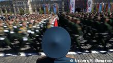Russland Probe Militärparade in Moskau