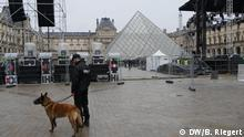 Frankreich Präsidentschaftswahl in Paris Sicherheitskräfte