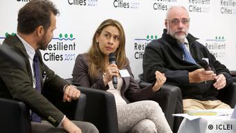 Alexandra Rodríguez avanzó la creación de un centro de investigación de agricultura urbana en el Parque del Bicentario de la capital ecuatoriana.