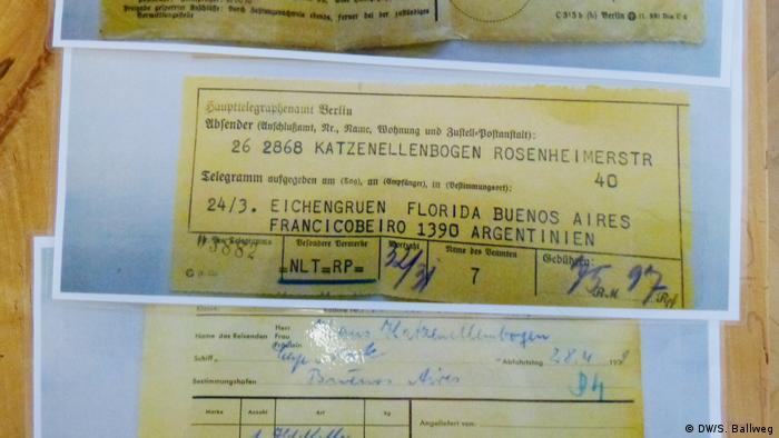 Deutschland Berlin - Initiative Denk Mal Am Ort. (DW/S. Ballweg)