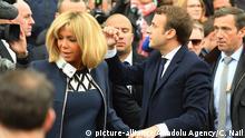 Frankreich Präsidentschaftswahl 2017 | Emmanuel Macron & Brigitte Trogneux