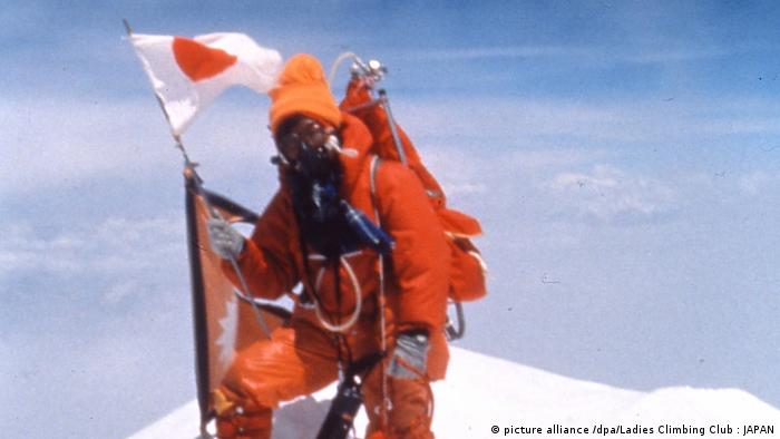 Besteigung des Mount Everest (picture alliance /dpa/Ladies Climbing Club : JAPAN)