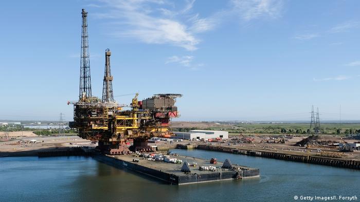 England Verschrottung der Ölplattform Shell Brent (Getty Images/I. Forsyth)
