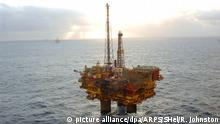 Nordsee Shell Brent Delta Ölplatform