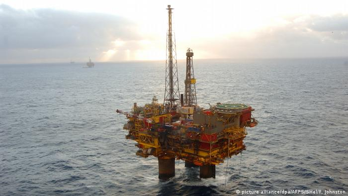 Nordsee Shell Brent Delta Ölplatform (picture alliance/dpa/ARPS/SHel/R. Johnston)