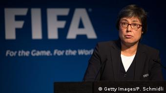 FIFA Moya Dodd (Getty Images/P. Schmidli)