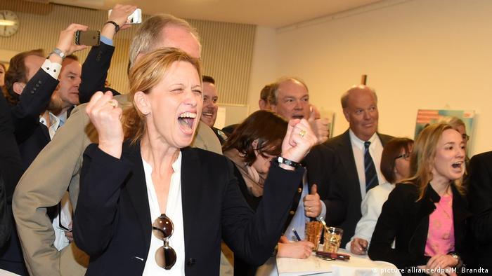 Deutschland CDU Landtagswahl in Schleswig-Holstein (picture alliance/dpa/M. Brandta)