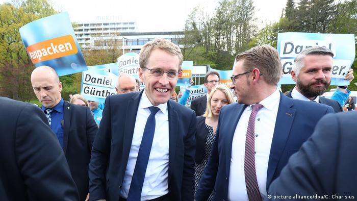 Deutschland Daniel Günther CDU Landtagswahl in Schleswig-Holstein