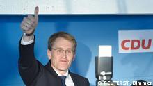 Deutschland Daniel Günther CDU Wahlen Schleswig-Holstein