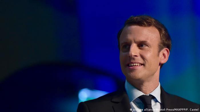 Emmanuel Macron (picture alliance/Wostok Press/MAXPPP/F. Castel)