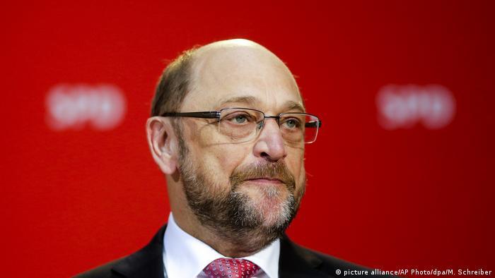 Ο πρόεδρος και υποψήφιος καγκελάριος του SPD Μάρτιν Σουλτς