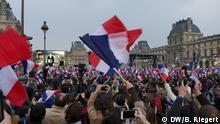 Frankreich Nach den Präsidentschaftswahlen in Paris