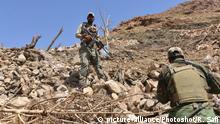 Afghanistan Soldaten in der Provinz Nangarhar