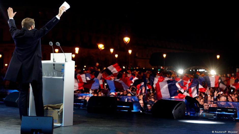 Frankreichs neuer Präsident will Extreme überzeugen
